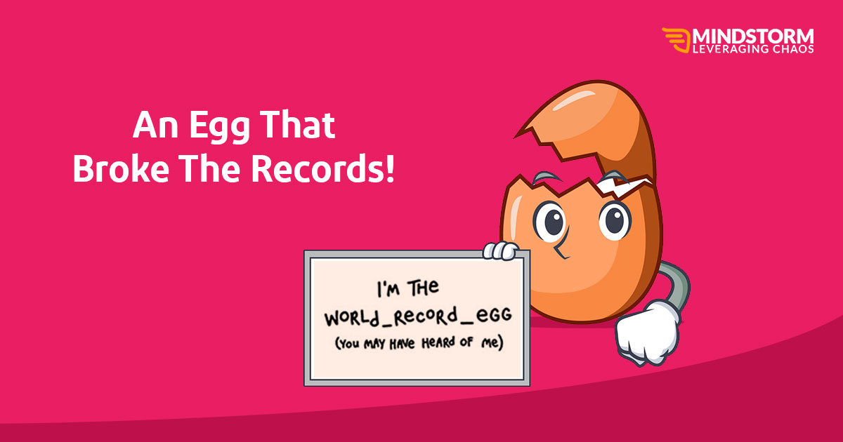 An egg that broke the records!