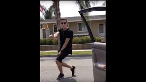 KIKI challenge - involved jumping out of the car while taking a video of it.