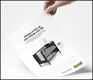In August 2019, Ikea launched a print media campaign