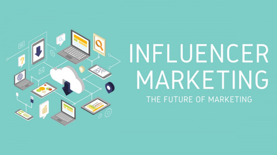 Influencer marketing is a form of social media marketing involving endorsements and product from influencers.