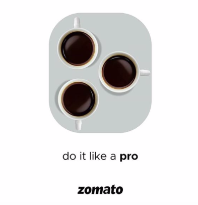 Zomato came up with a very creative idea after Iphone 11-Pro's launch