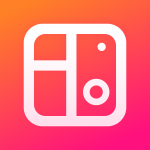 Thousands of layout options and interesting background varieties makes this app popular among users.