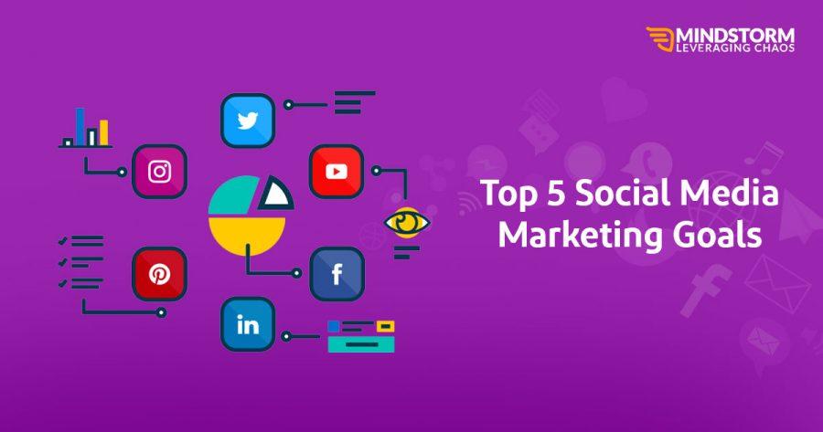 Top 5 Social Media Marketing Goals