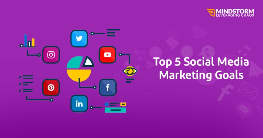 Top 5 Social Media Marketing Goals