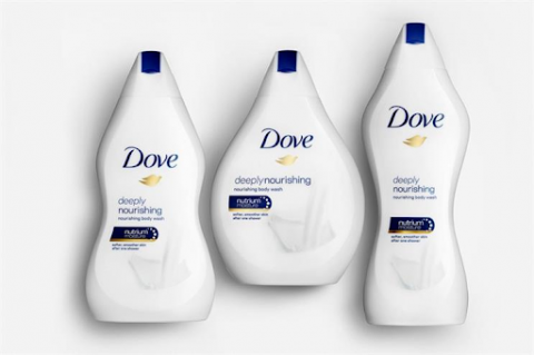 Dove's biggest failed marketing campaign was when they relised a bottels of women figure.