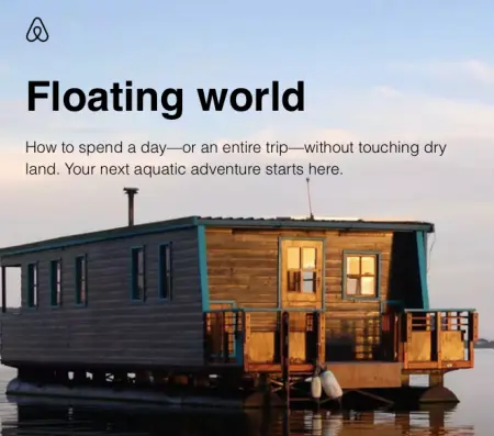 Airbnb biggest failed marketing campaign was floating world' marketing campaign