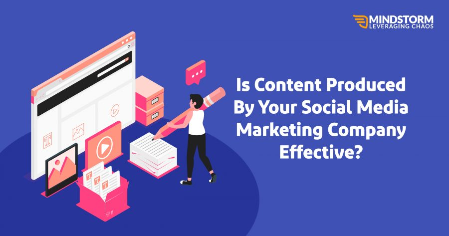 Is the content produced by your company effective?