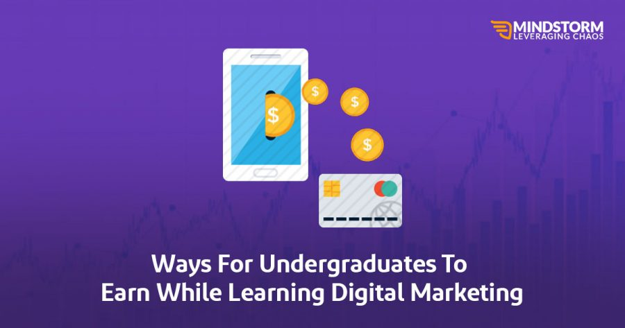 Ways for Undergrads to earn while learning Digital marketing