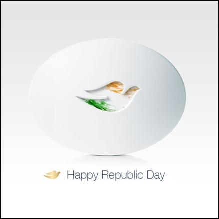 Dove Post for Republic Day in India for social media