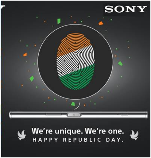 Sony Post for Republic Day in India for social media