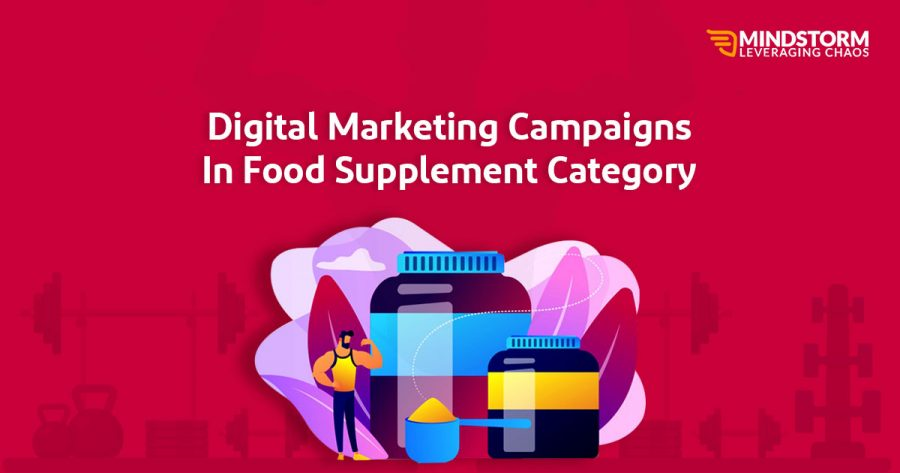 Digital marketing campaigns in food supplement category