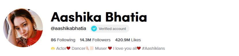 Aashika