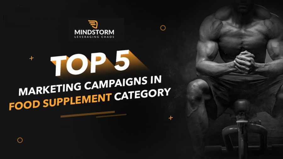 Here are the Top 5 Marketing campaigns in food supplement category