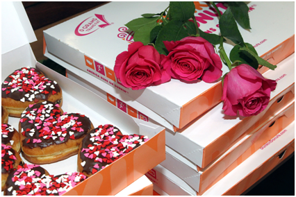 Dunkin', Dunkintines Cards: had a great digital campaign for its viewers