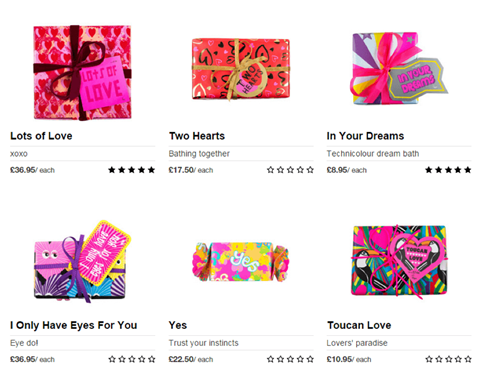 Lush, Packaging Campaign