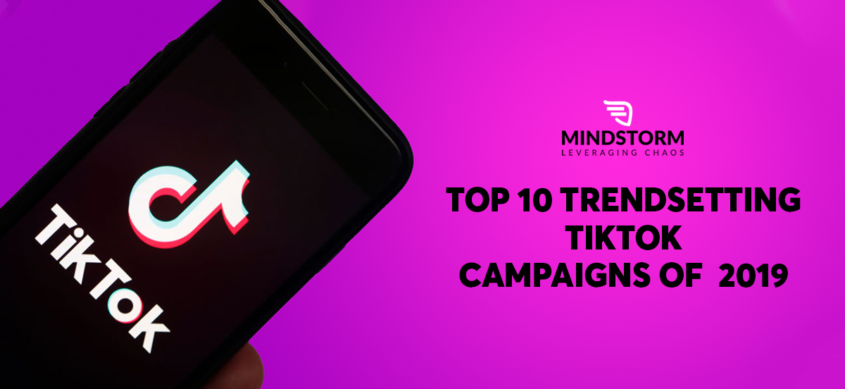 Top 10 trendsetting TikTok campaigns of 2019 blog Banner