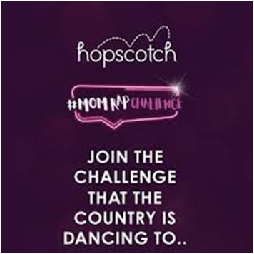 TikTok campaign promoted in India to engage audience by hopscotch