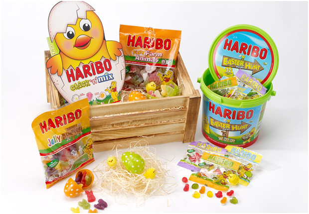 Campaign on the occassion of easter 2019 by Haribo