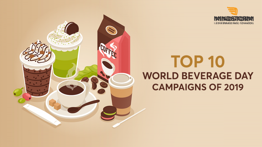 10 World Beverage Day campaigns by brands Cover for blog
