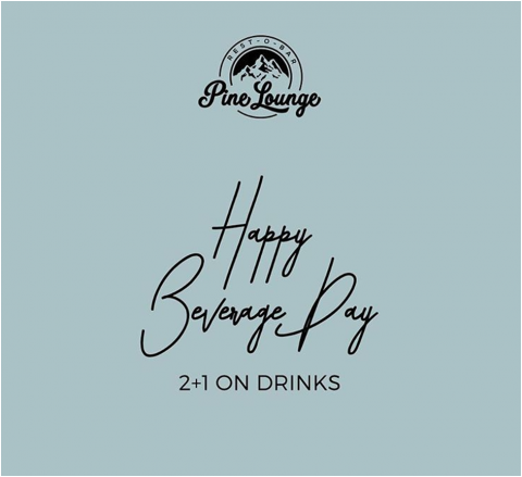 Post on the occasion of National Beverage Day 2019 Pine Lounge