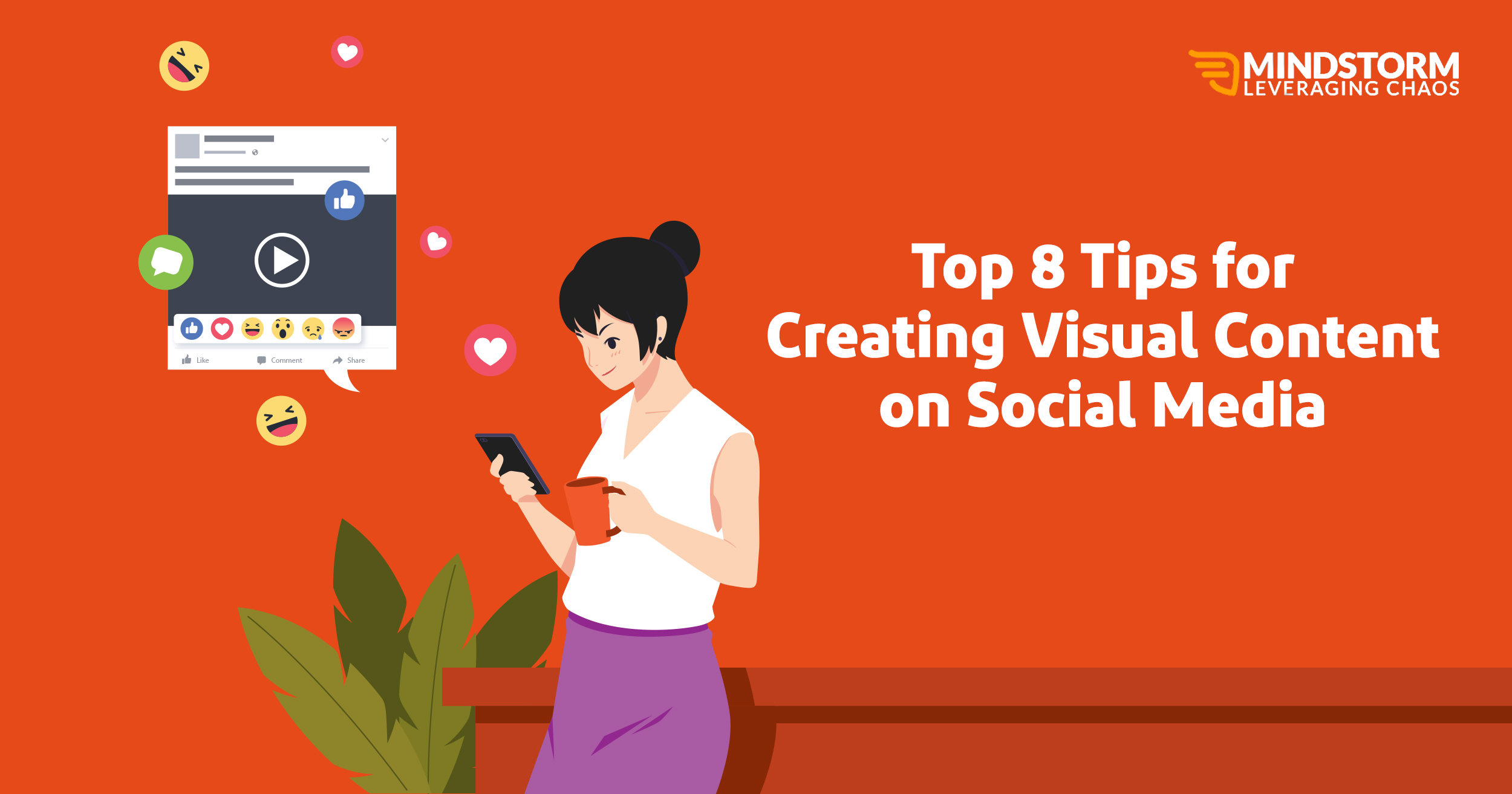 Top 8 Tips for Creating Visual Content on Social Media