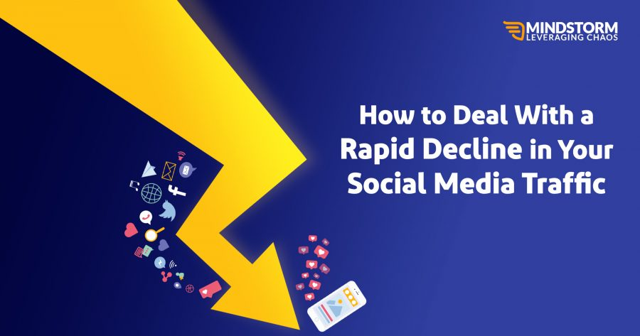 Rapid Decline in Social Media