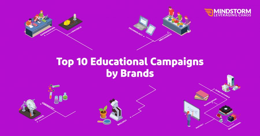 Top 10 Educational Campaigns by Brands