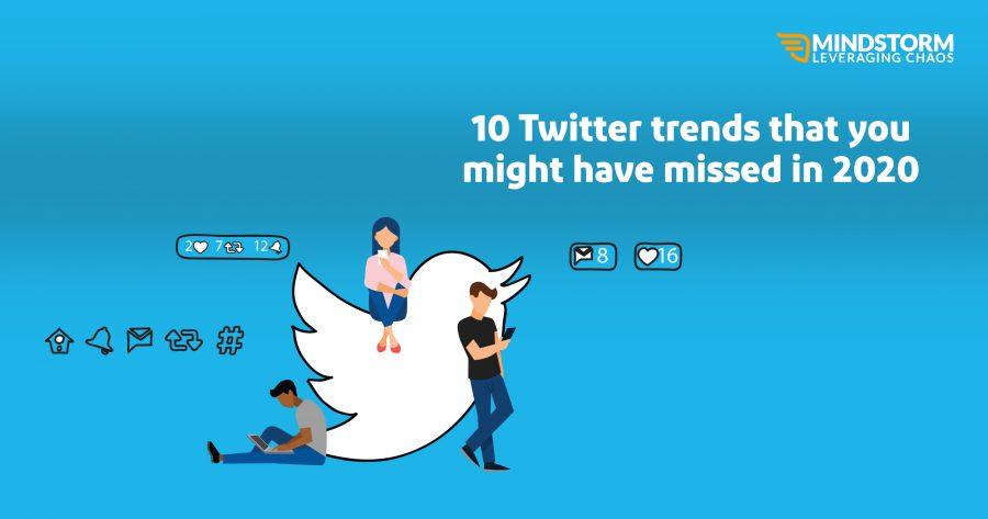 Top 2020 Twitter Trends