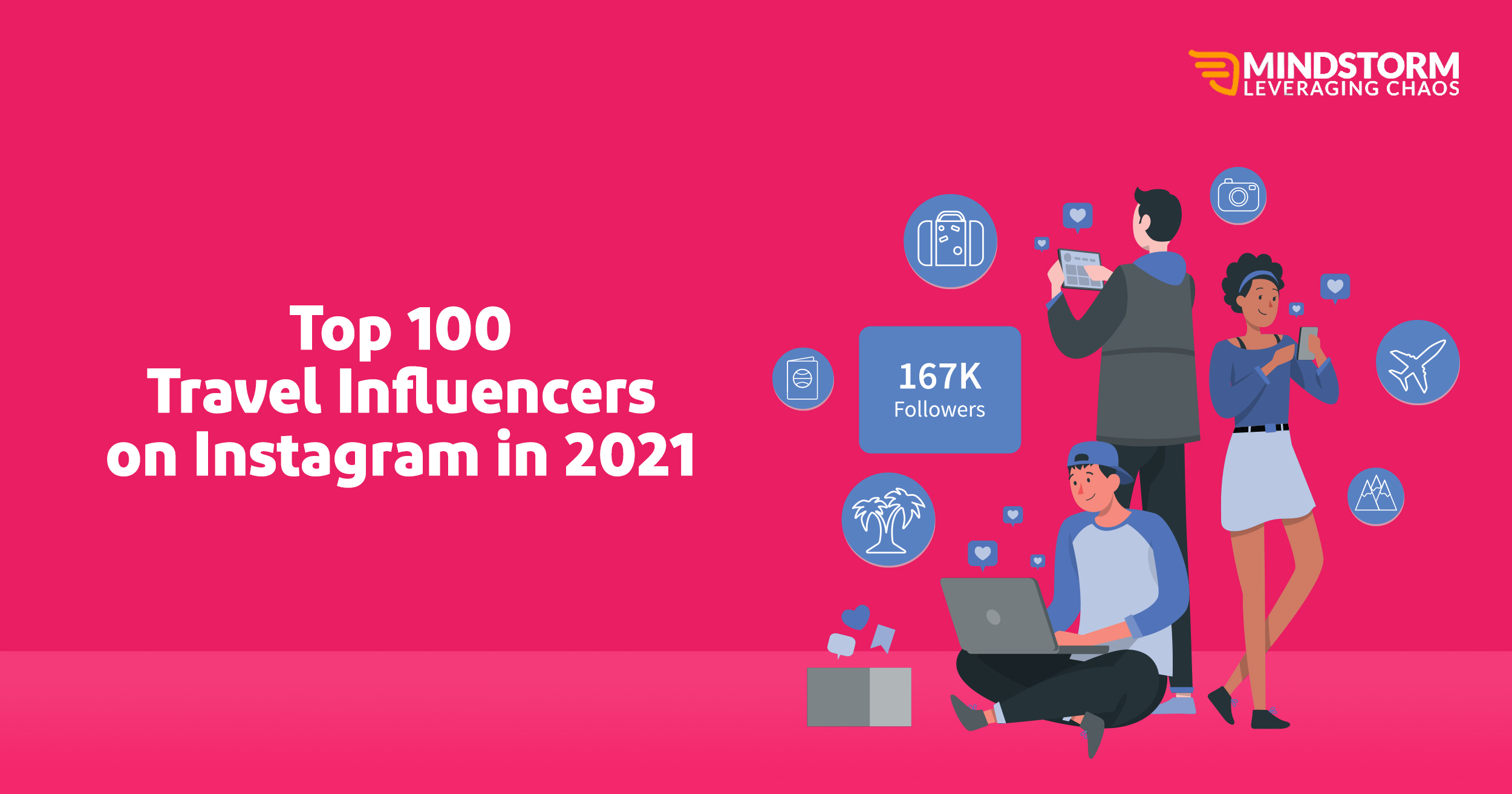 Top 100 Travel Influencers on Instagram in 2021!