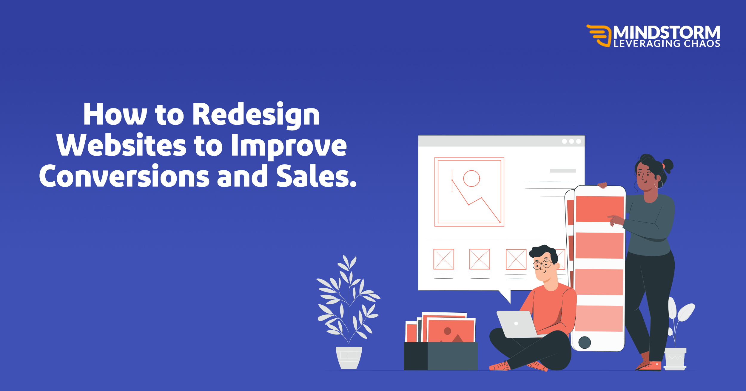 How to Redesign Websites to Improve Conversions and Sales